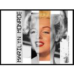 Esquema de Marylin Monroe en Punto de Cruz