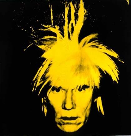 Esquemas de Andy Warhol en Punto de Cruz