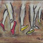 Esquemas de Bailarinas en Punto de Cruz