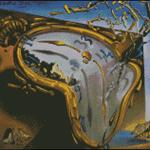 Esquemas de Cuadros de Dalí en Punto de Cruz