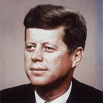 Esquemas de John F. Kennedy en Punto de Cruz
