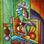 Esquemas de Cuadros de Picasso en Punto de Cruz