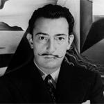 Esquemas de Salvador Dalí en Punto de Cruz