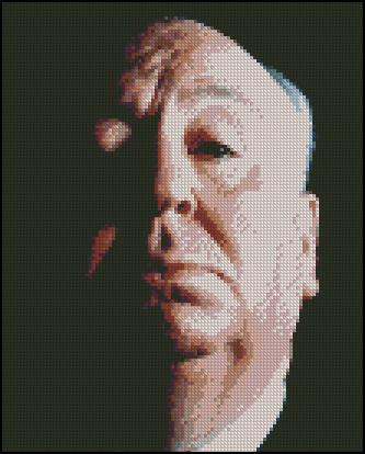 Esquema de Alfred Hitchcock en Punto de Cruz (2)
