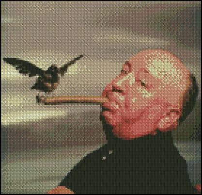 Esquema de Alfred Hitchcock en Punto de Cruz (3)