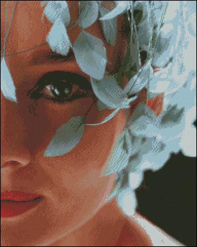 Esquema de Audrey Hepburn en Punto de Cruz (10)