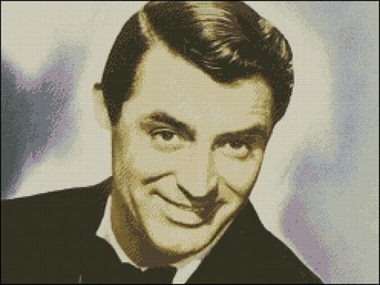Esquema de Cary Grant en Punto de Cruz (2)