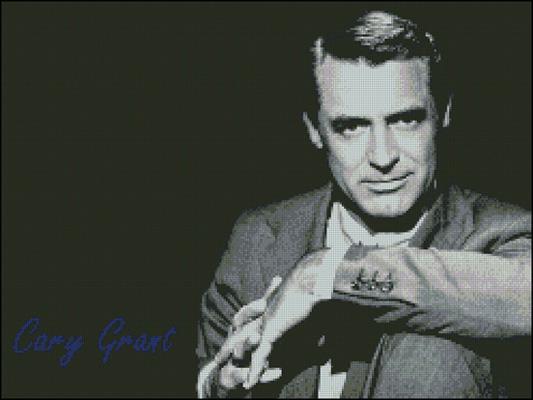 Esquema de Cary Grant en Punto de Cruz
