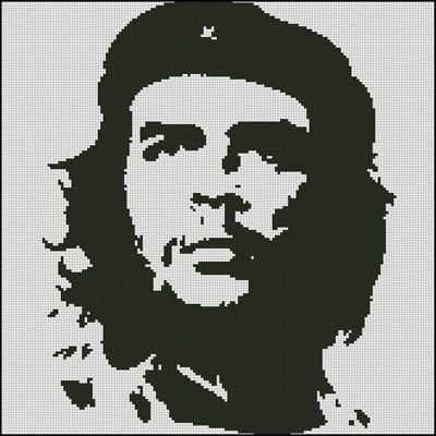 Esquema de Che Guevara en Punto de Cruz (1)