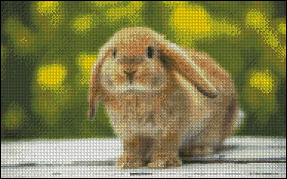 Esquema de Conejos en Punto de Cruz (1)