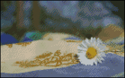 Esquema de Flor en Punto de Cruz (6)