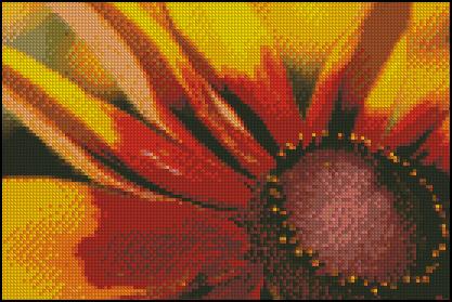 Esquema de Flor en Punto de Cruz (7)