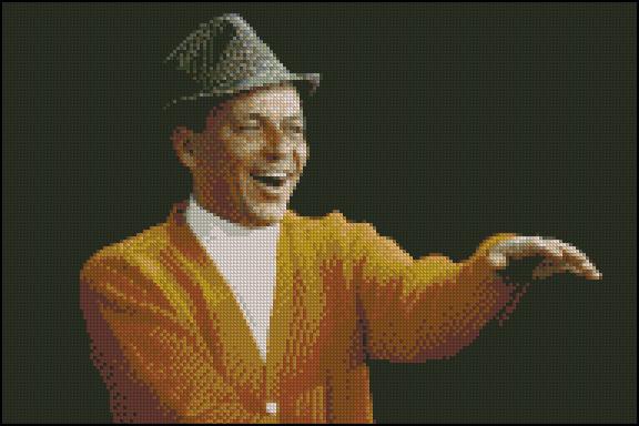 Esquema de Frank Sinatra en Punto de Cruz (1)