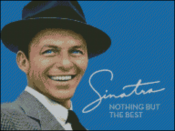 Esquema de Frank Sinatra en Punto de Cruz (2)
