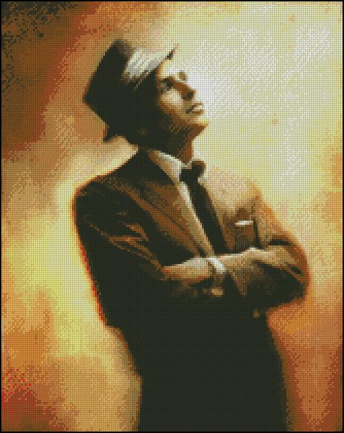 Esquema de Frank Sinatra en Punto de Cruz (3)