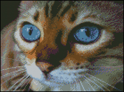 Esquema de Gatos en Punto de Cruz (10)