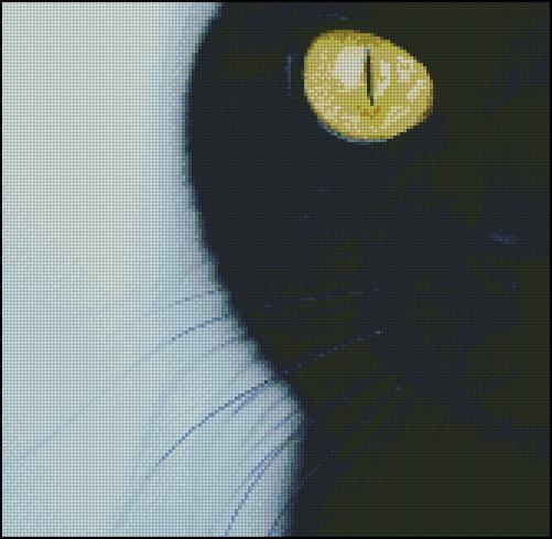 Esquema de Gatos en Punto de Cruz (15)