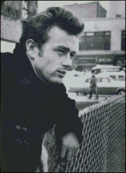 Esquema de James Dean en Punto de Cruz (3)