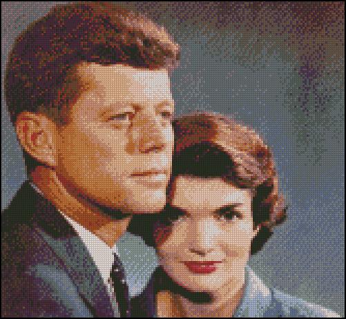 Esquema de John Kennedy en Punto de Cruz (1)