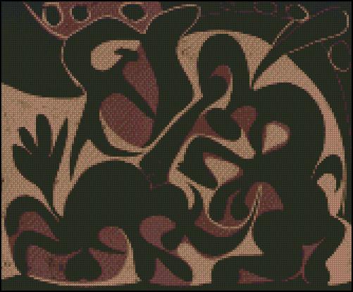 Esquema de Cuadros de Picasso en Punto de Cruz (3)
