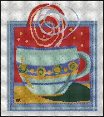 Esquema de Cuadros sobre Café en Punto de Cruz (20)