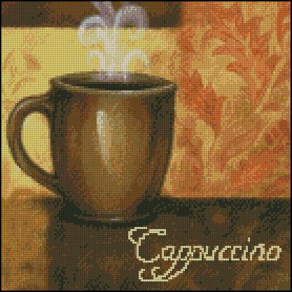 Esquema de Cuadros sobre Café en Punto de Cruz (21)