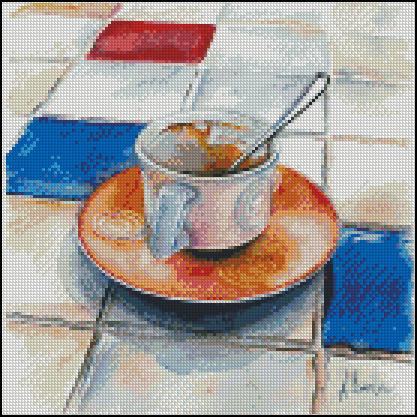 Esquema de Cuadros sobre Café en Punto de Cruz (22)