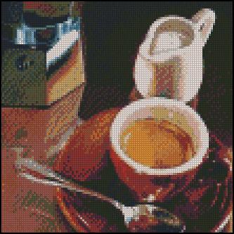 Esquema de Cuadros sobre Café en Punto de Cruz (4)