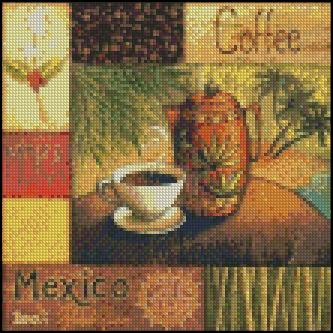 Esquema de Cuadros sobre Café en Punto de Cruz (7)