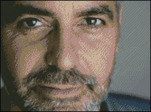 Esquema de George Clooney en Punto de Cruz (1)