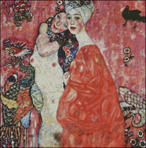 Esquema de Cuadros de Klimt en Punto de Cruz (2)