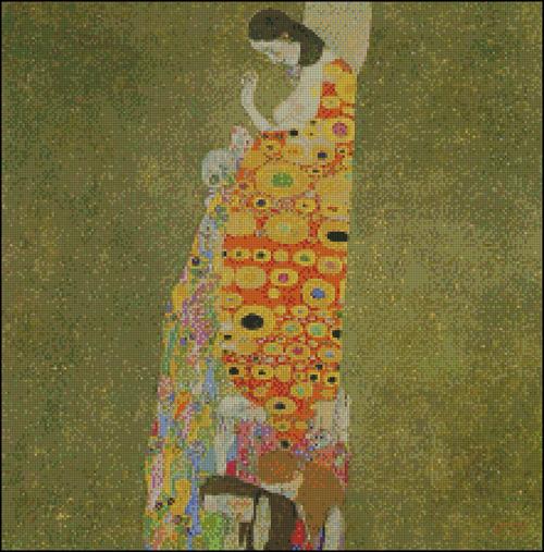Esquema de Cuadros de Klimt en Punto de Cruz (4)