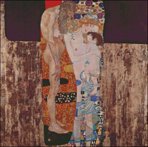 Esquema de Cuadros de Klimt en Punto de Cruz (8)