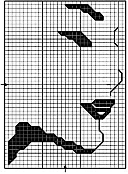 Esquema de Siluetas de Caras (1)