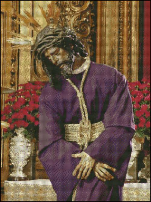 Esquema del Cristo del Gran Poder (2)
