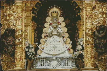 Esquema de la Virgen del Rocío (1)