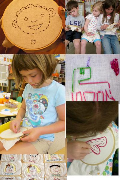 ¿Quién dijo que los niños no pueden aprender a coser y bordar?