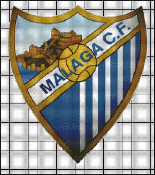 Esquema del Málaga en Punto de Cruz (1)
