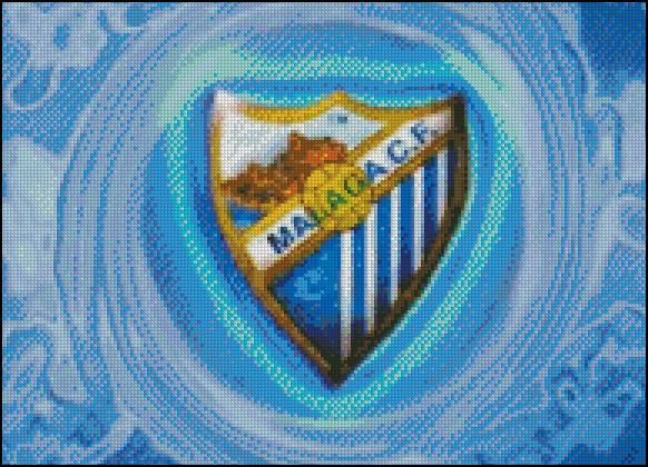 Esquema del Málaga en Punto de Cruz (2)