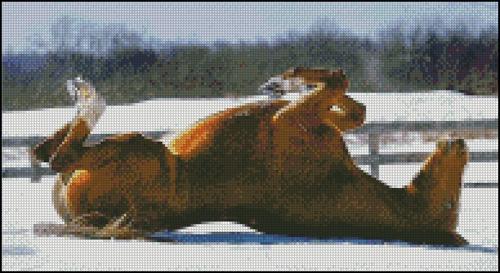 Esquema de Caballos en Punto de Cruz (7)